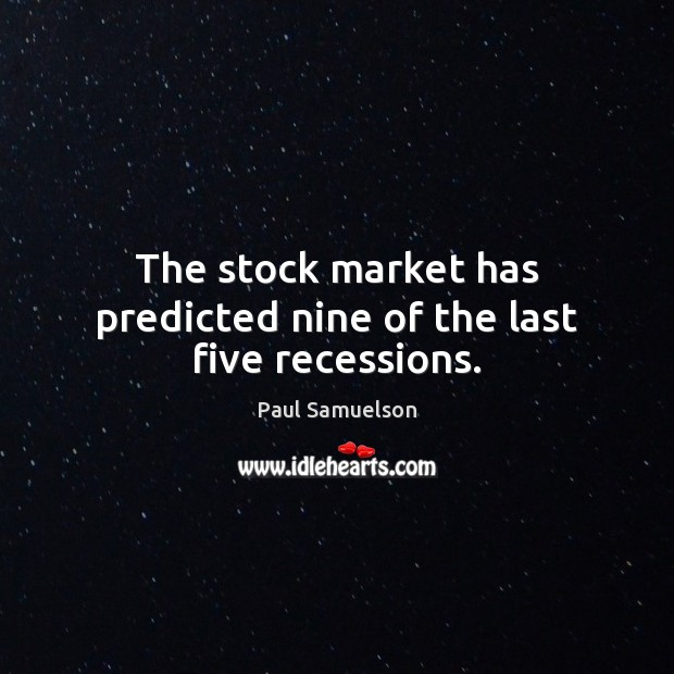samuelson's dictum and the stock market