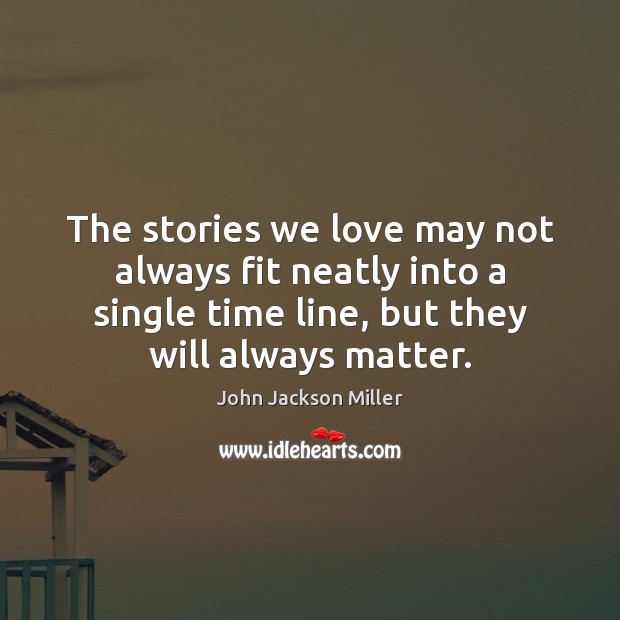 The stories we love may not always fit neatly into a single Image