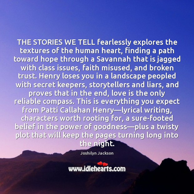 THE STORIES WE TELL fearlessly explores the textures of the human heart, Image