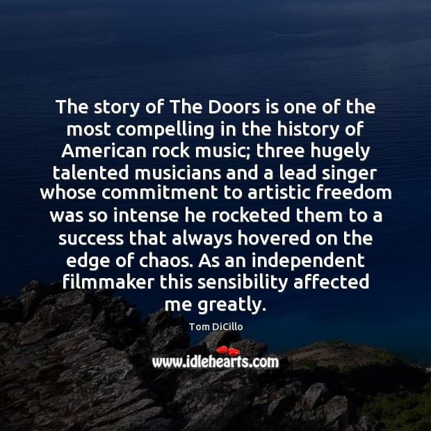 Image, The story of The Doors is one of the most compelling in