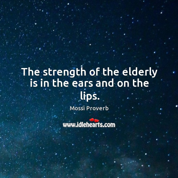 Mossi Proverbs