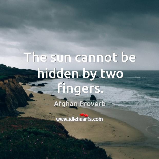 Afghan Proverb Image