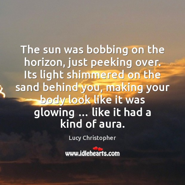 Picture Quote by Lucy Christopher