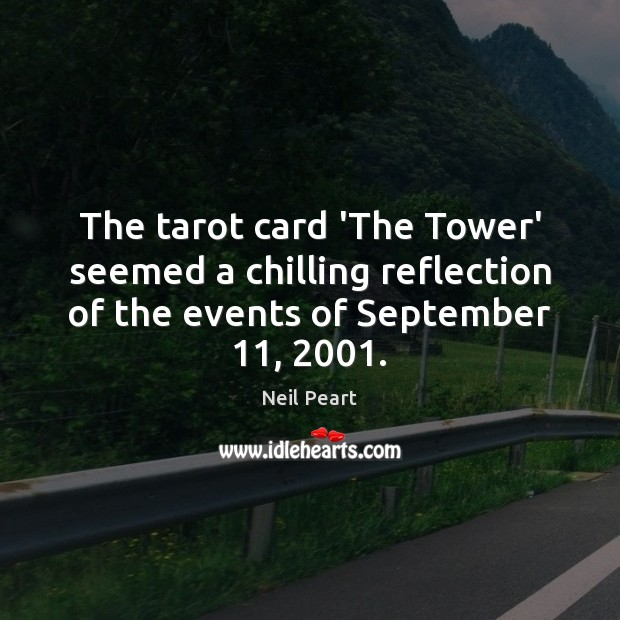 Image, The tarot card 'The Tower' seemed a chilling reflection of the events