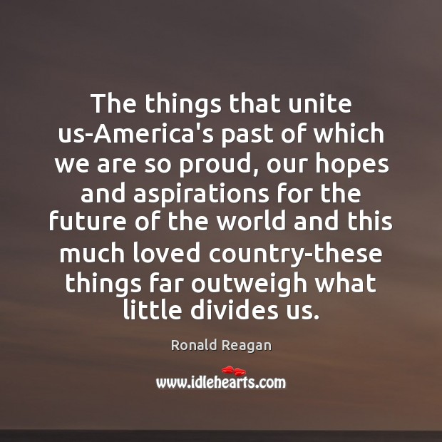 The things that unite us-America's past of which we are so proud, Image