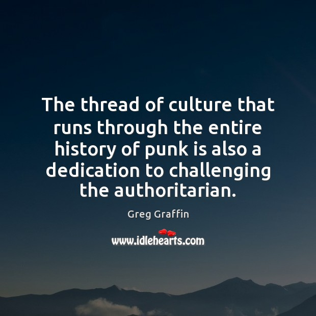 Image, The thread of culture that runs through the entire history of punk