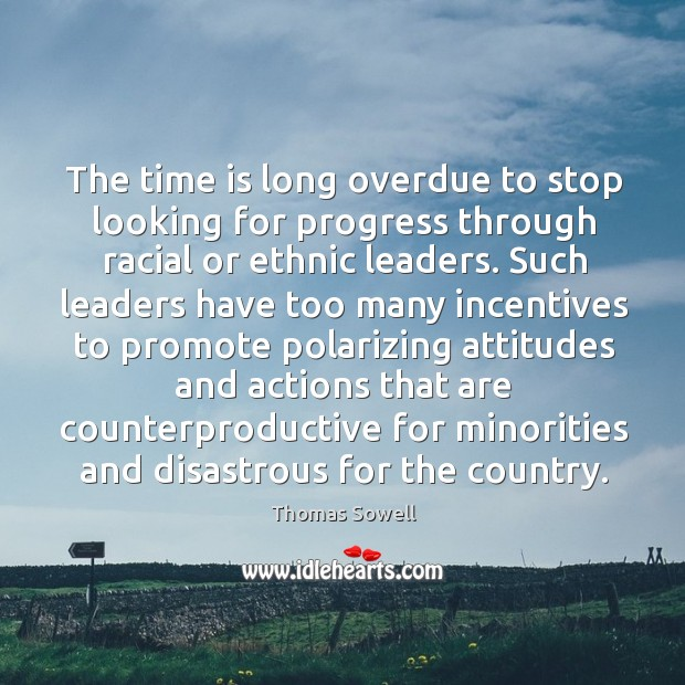 The time is long overdue to stop looking for progress through racial Image