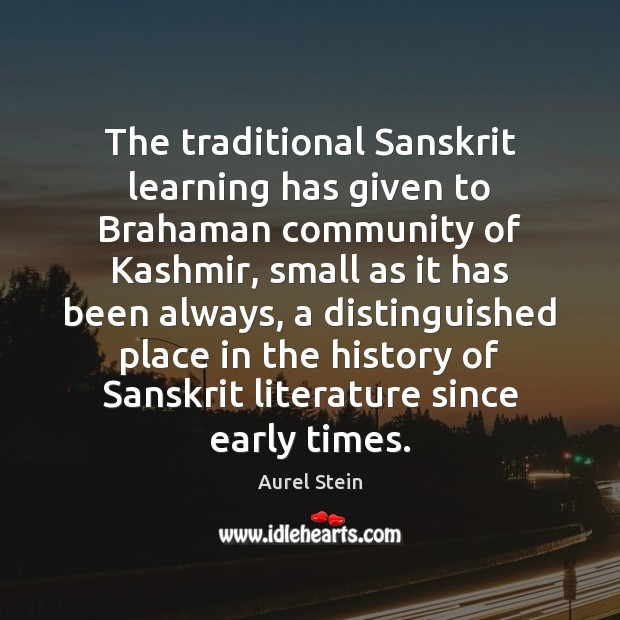 Image, The traditional Sanskrit learning has given to Brahaman community of Kashmir, small