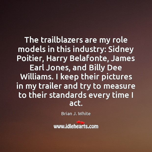 Image, The trailblazers are my role models in this industry: Sidney Poitier, Harry