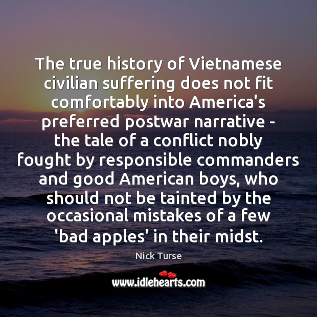 Image, The true history of Vietnamese civilian suffering does not fit comfortably into