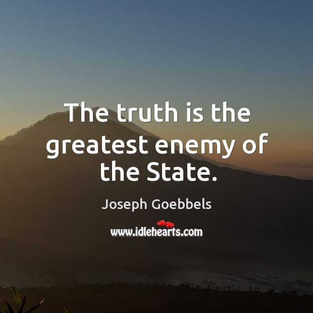 Picture Quote by Joseph Goebbels