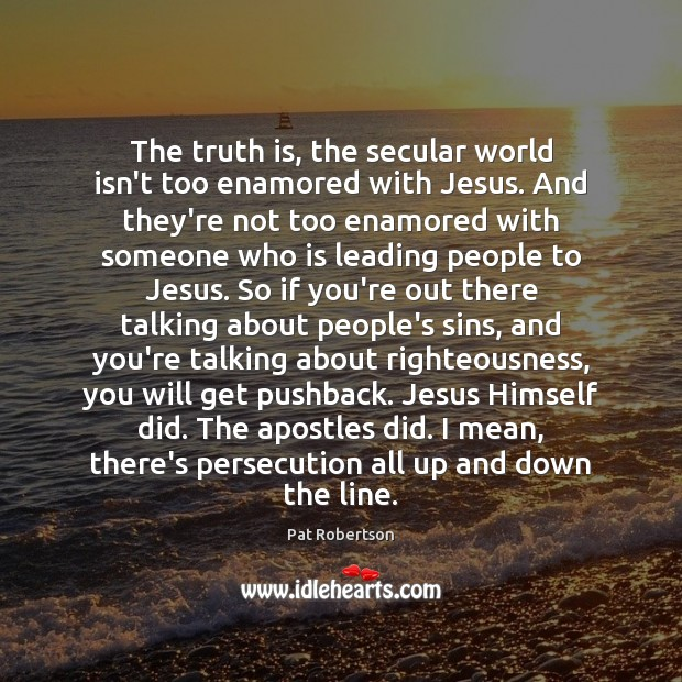 The truth is, the secular world isn't too enamored with Jesus. And Image