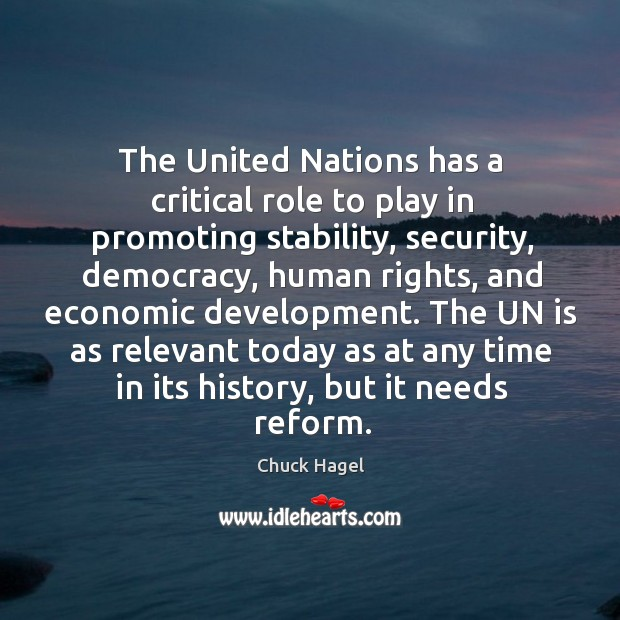 The un is as relevant today as at any time in its history, but it needs reform. Image