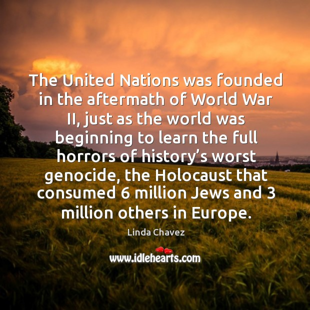 The united nations was founded in the aftermath of world war ii, just as the world Image