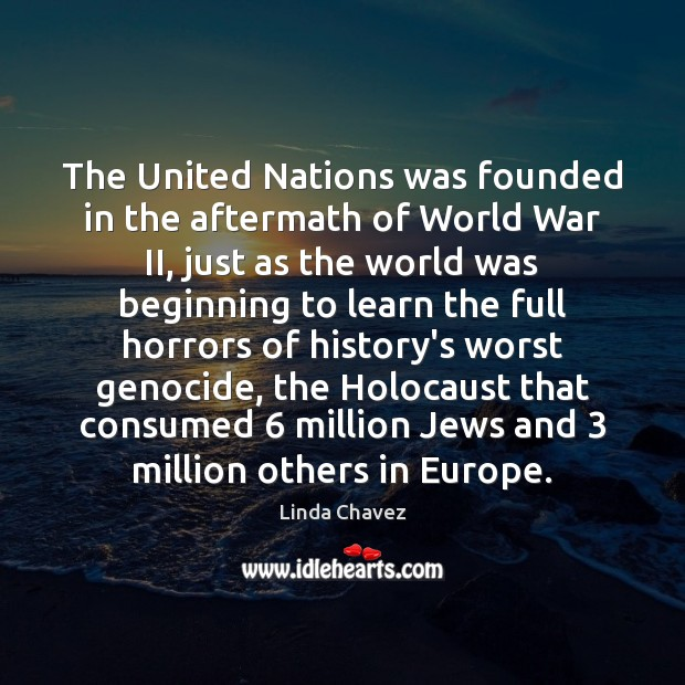 The United Nations was founded in the aftermath of World War II, Image