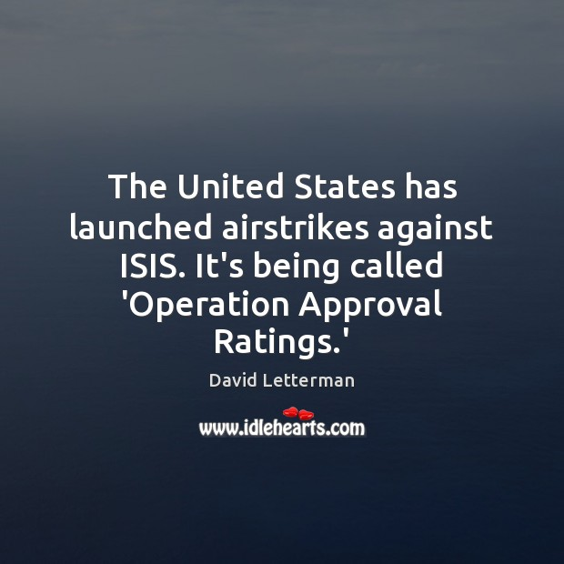 Image, The United States has launched airstrikes against ISIS. It's being called 'Operation