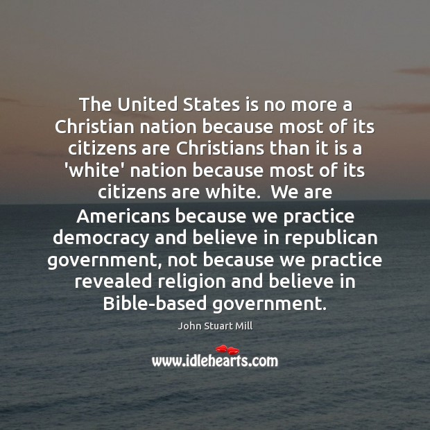 Image, The United States is no more a Christian nation because most of