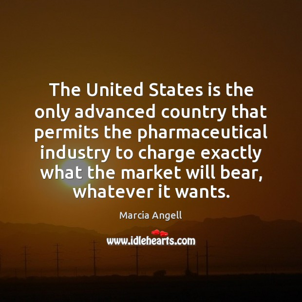 Image, The United States is the only advanced country that permits the pharmaceutical