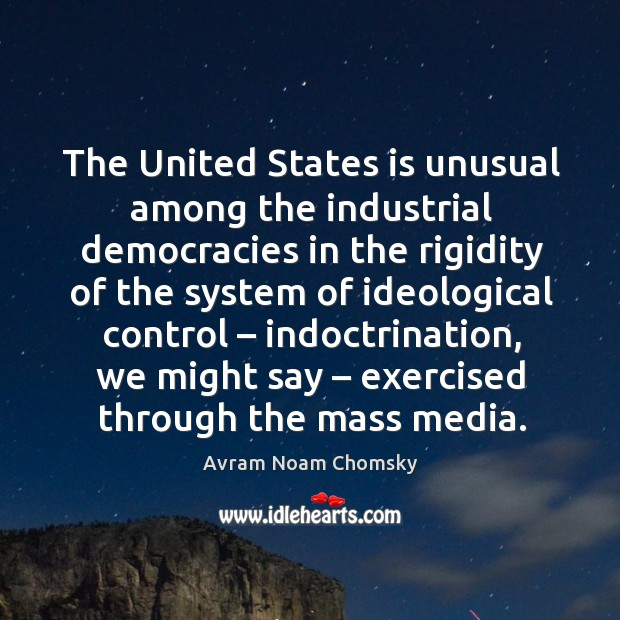 The united states is unusual among the industrial democracies Image
