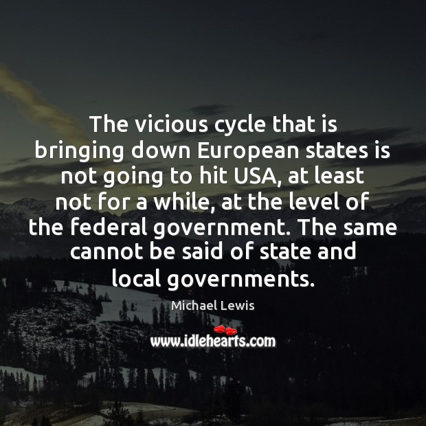 The vicious cycle that is bringing down European states is not going Image
