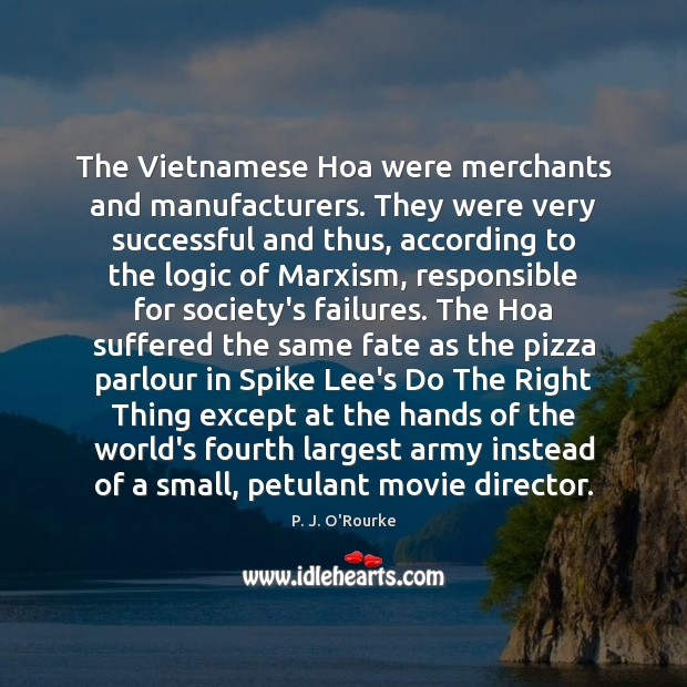 Image, The Vietnamese Hoa were merchants and manufacturers. They were very successful and