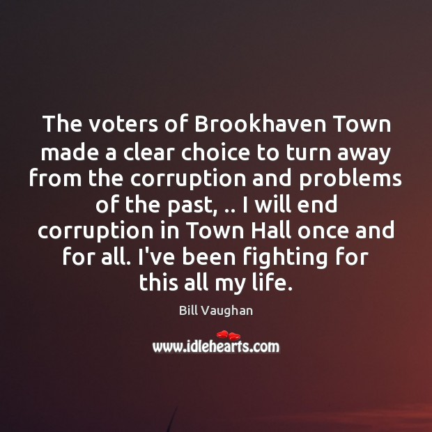 Image, The voters of Brookhaven Town made a clear choice to turn away