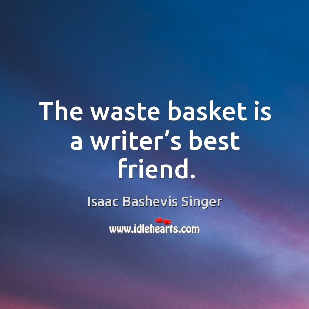 Picture Quote by Isaac Bashevis Singer