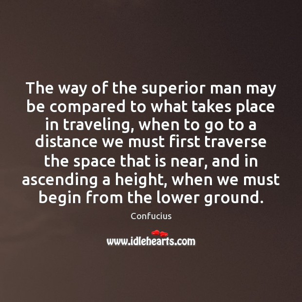 Image, The way of the superior man may be compared to what takes