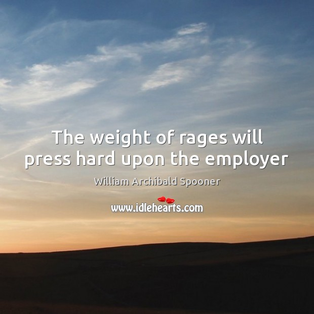 The weight of rages will press hard upon the employer Image