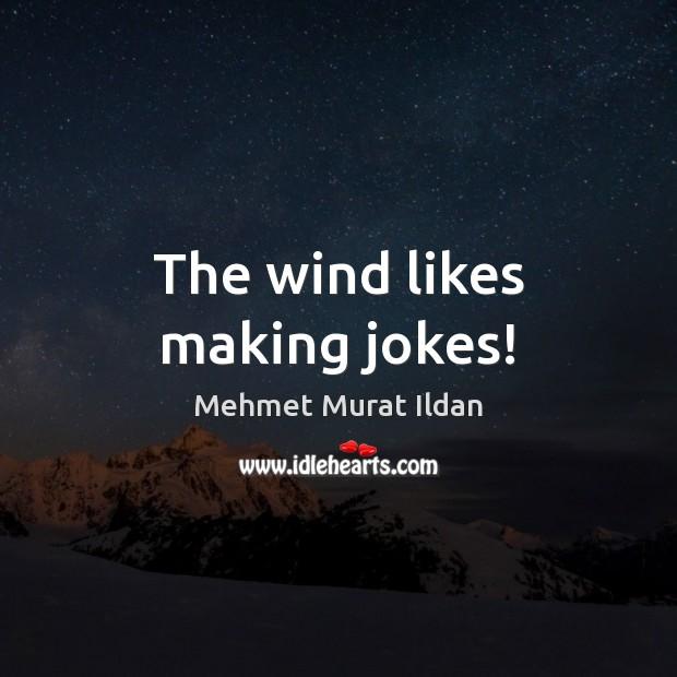 Image, The wind likes making jokes!