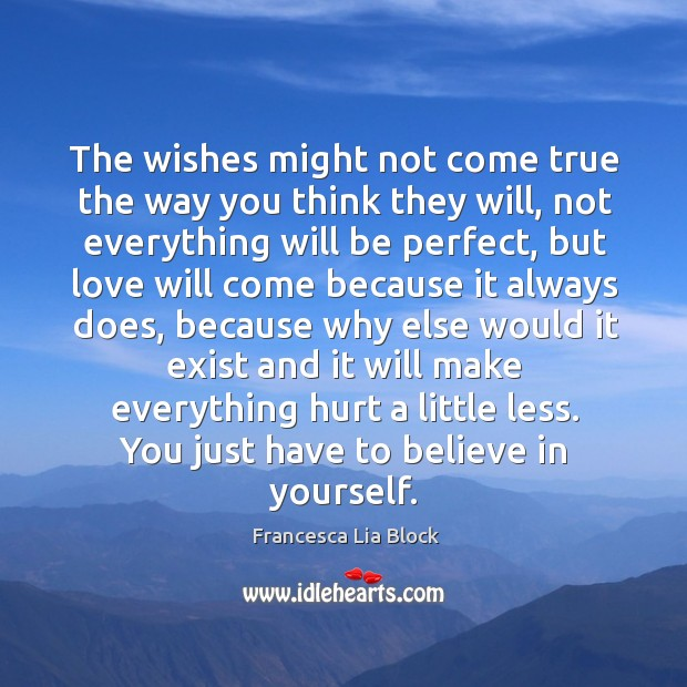 The wishes might not come true the way you think they will, Image