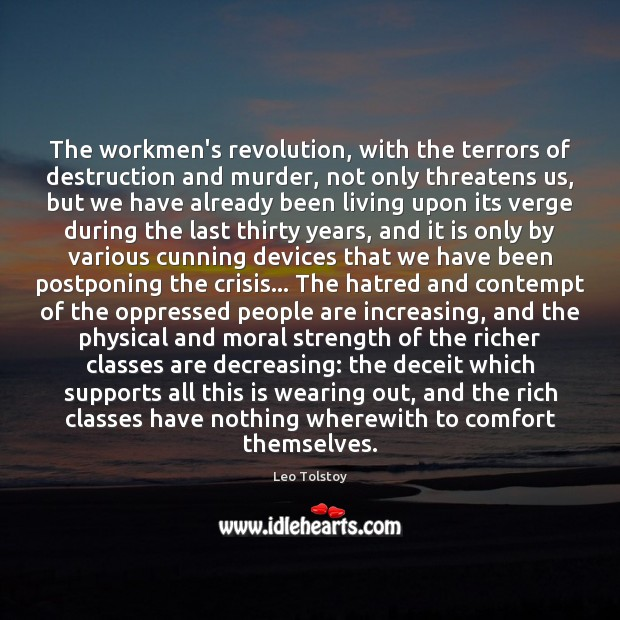 Image, The workmen's revolution, with the terrors of destruction and murder, not only