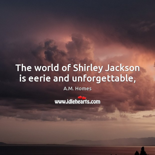The world of Shirley Jackson is eerie and unforgettable, Image