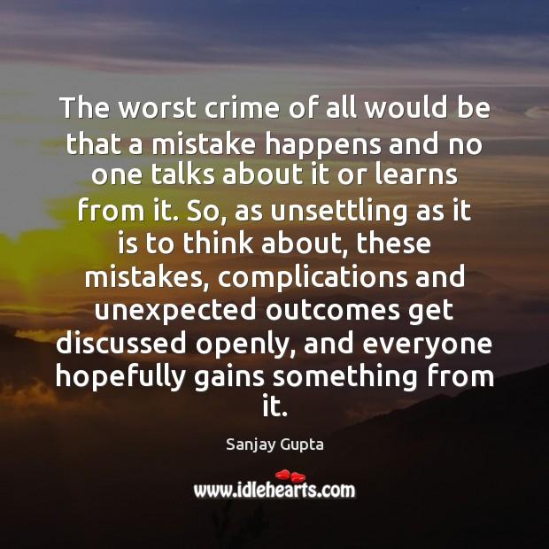 Crime Quotes