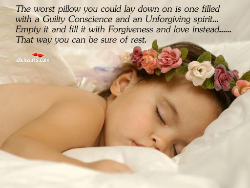 The Worst Pillow You Could Lay Down On Is One Filled…