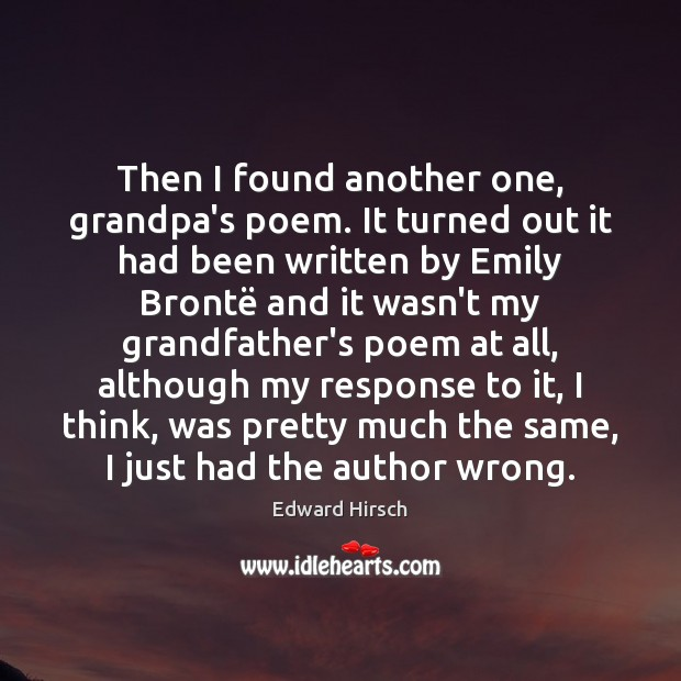 Image, Then I found another one, grandpa's poem. It turned out it had