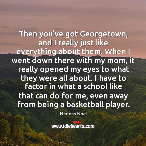 Picture Quote by Nerlens Noel