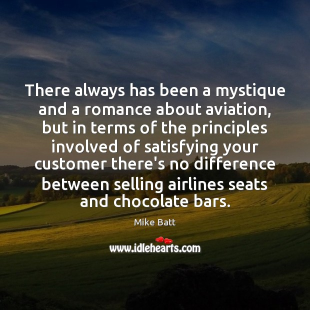 There always has been a mystique and a romance about aviation, but Image