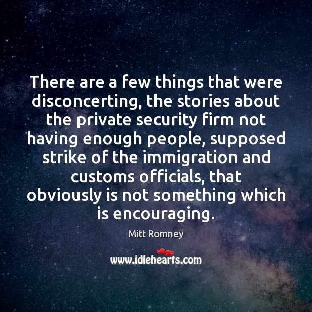 There are a few things that were disconcerting, the stories about the Image