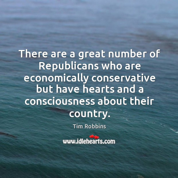 Image, There are a great number of republicans who are economically conservative but have