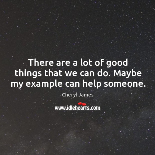 There are a lot of good things that we can do. Maybe my example can help someone. Image