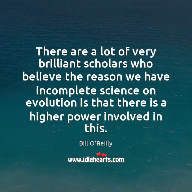 Image, There are a lot of very brilliant scholars who believe the reason