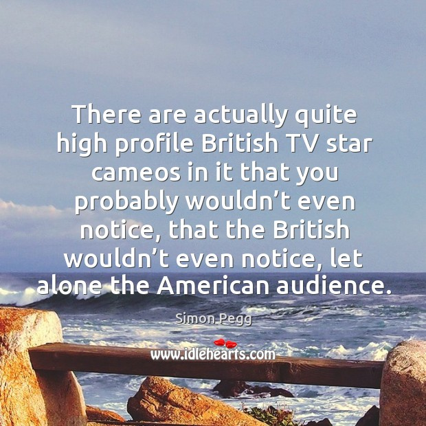 Image, There are actually quite high profile british tv star cameos in it that you probably wouldn't