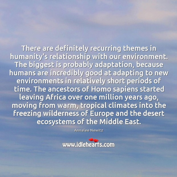 Image, There are definitely recurring themes in humanity's relationship with our environment. The