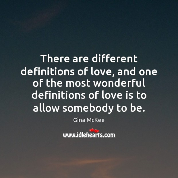 There are different definitions of love, and one of the most wonderful Image