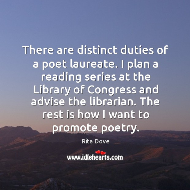 There are distinct duties of a poet laureate. Image