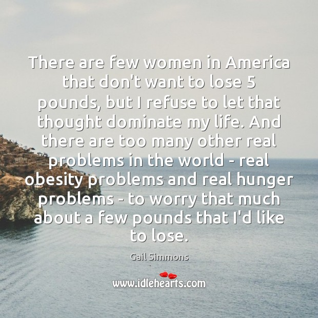 There are few women in America that don't want to lose 5 pounds, Image