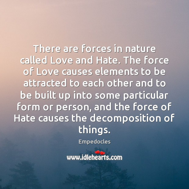 Love and Hate Quotes