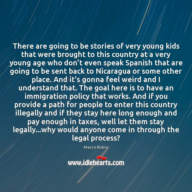 Image, There are going to be stories of very young kids that were