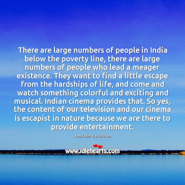 There are large numbers of people in India below the poverty line, Image